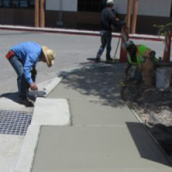 Concrete finishing, repairs and installation